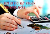 Dịch vụ kế toán tại Thanh Hóa