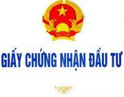Giấy chứng nhận đầu tư tại Thanh Hóa