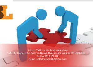 Các thủ tục phải tiến hành sau khi đăng ký doanh nghiệp tại Nông Cống Thanh Hóa