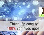 Thành lập công ty 100% vốn nước ngoài tại huyện Nông Cống tỉnh Thanh Hóa
